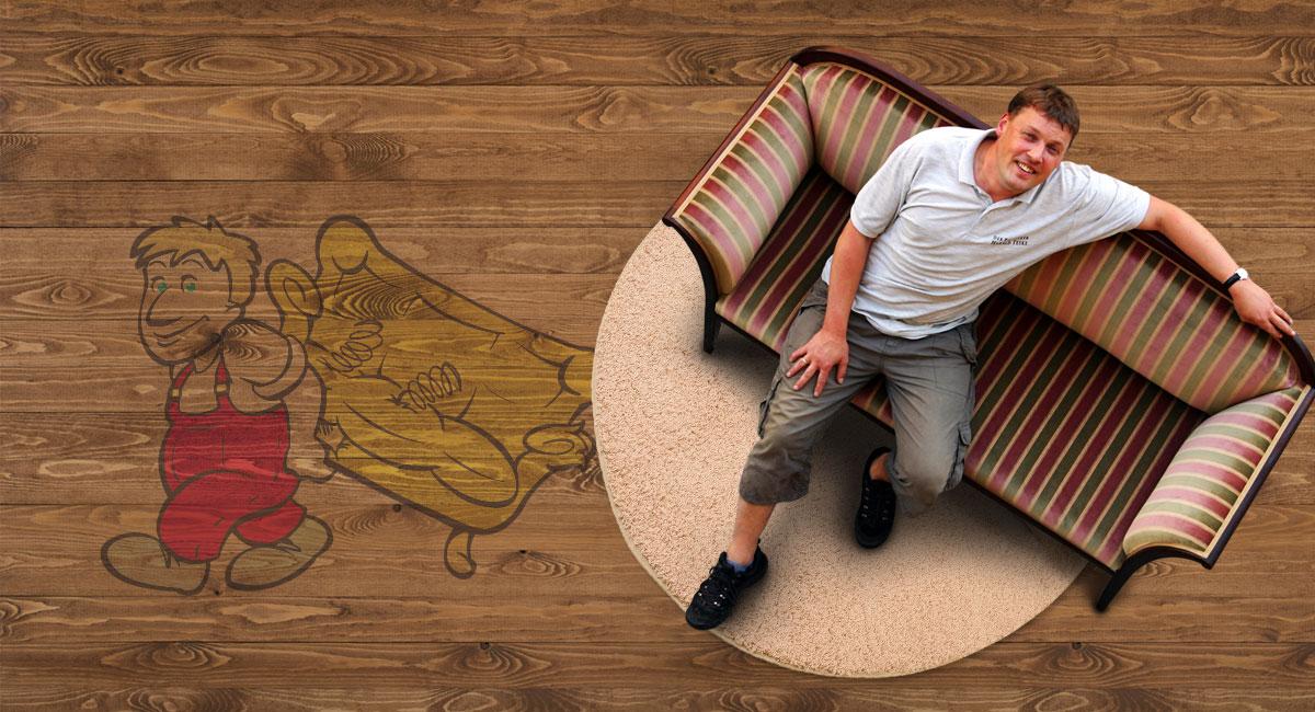 der polsterer harald teske aus leipzig alte sofa sessel und st hle werden wieder wie neu. Black Bedroom Furniture Sets. Home Design Ideas